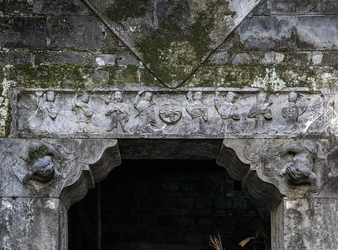 八大仙人石雕