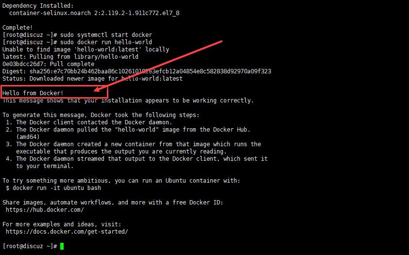 Docker CentOS 安装方法